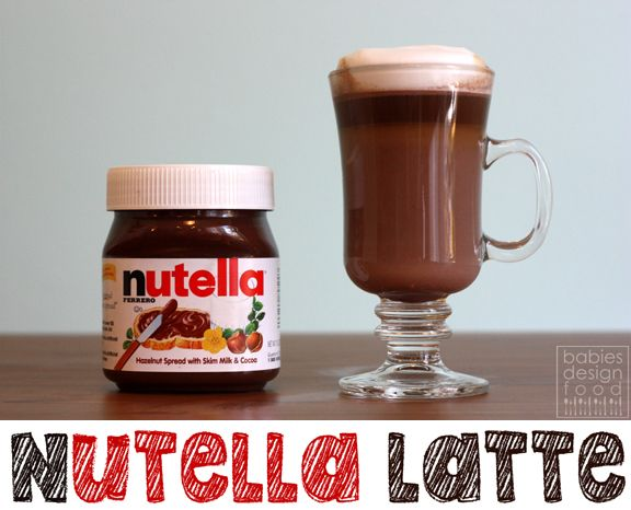 Nutella Latte: Mix warmed nutella & hazelnut coffee (or regular) in mug. Stir well. Mix in cinnamon, vanilla extract, & almond milk (or your choice). Sugar optional. Top w/whipped cream & cinnamon. Serve hot. Give thanks. Share the joy.