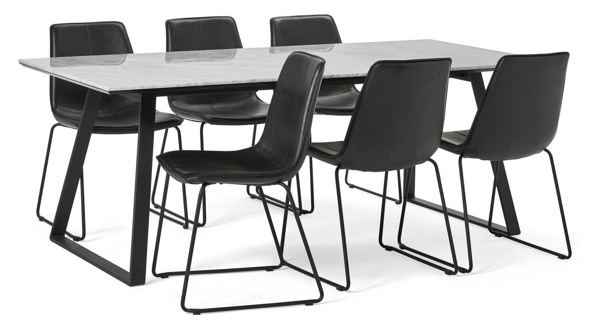 matbord med stolar mio