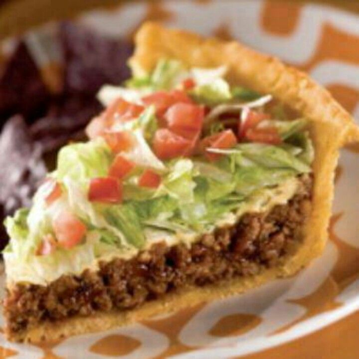 Impossibly Easy Taco Pie | Recipe | Tacos, Chefs and Cream