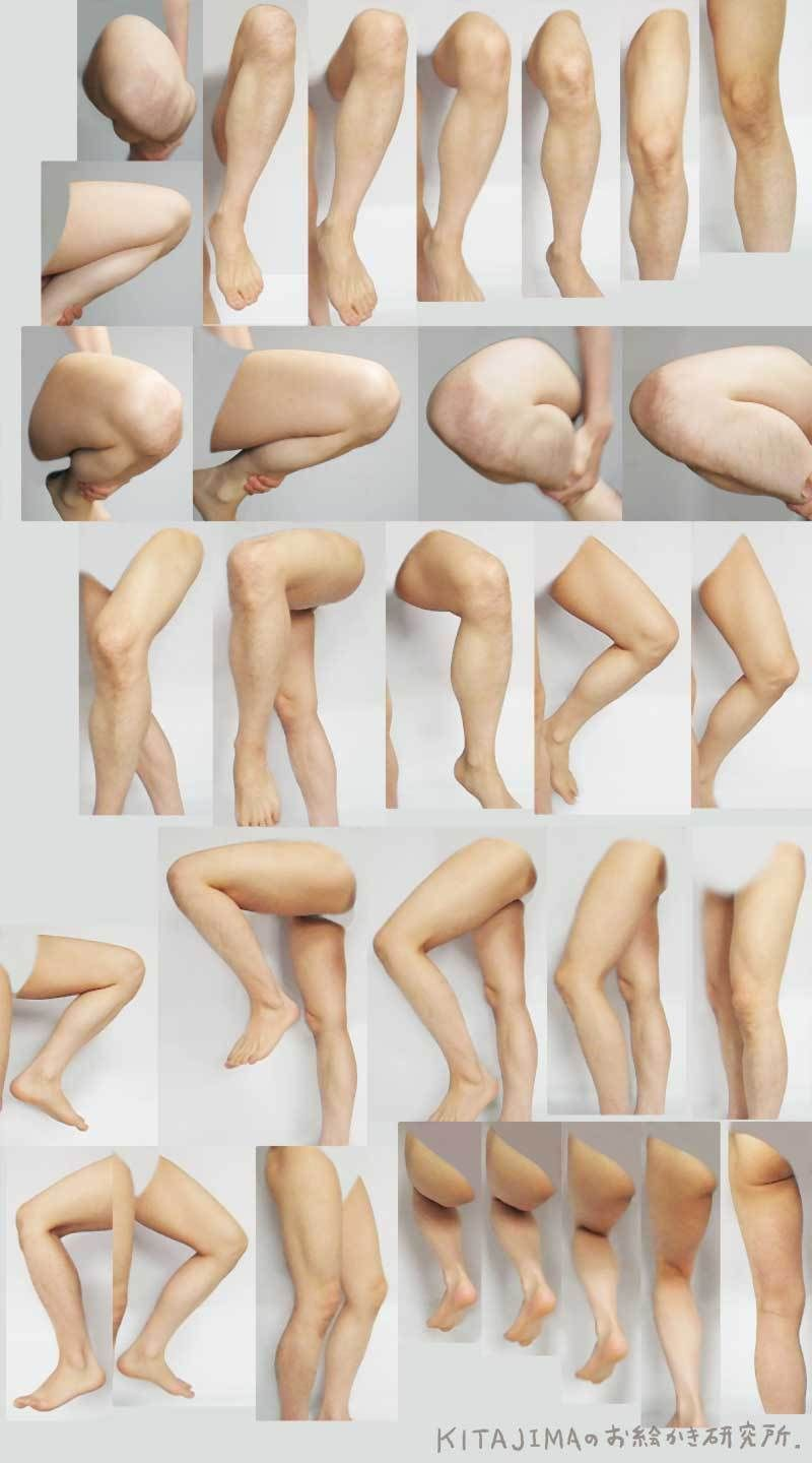 Motions of left leg | 絵描き | Pinterest | Legs, Anatomy and Drawings