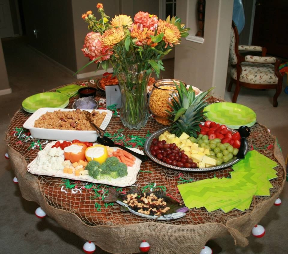 Fish Party Table Decor