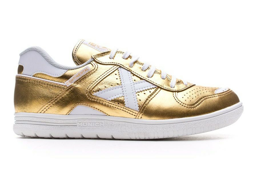 5db2cdfb0 futsal Munich Continental Paco Sedano Gold Edition - Gold   White ...
