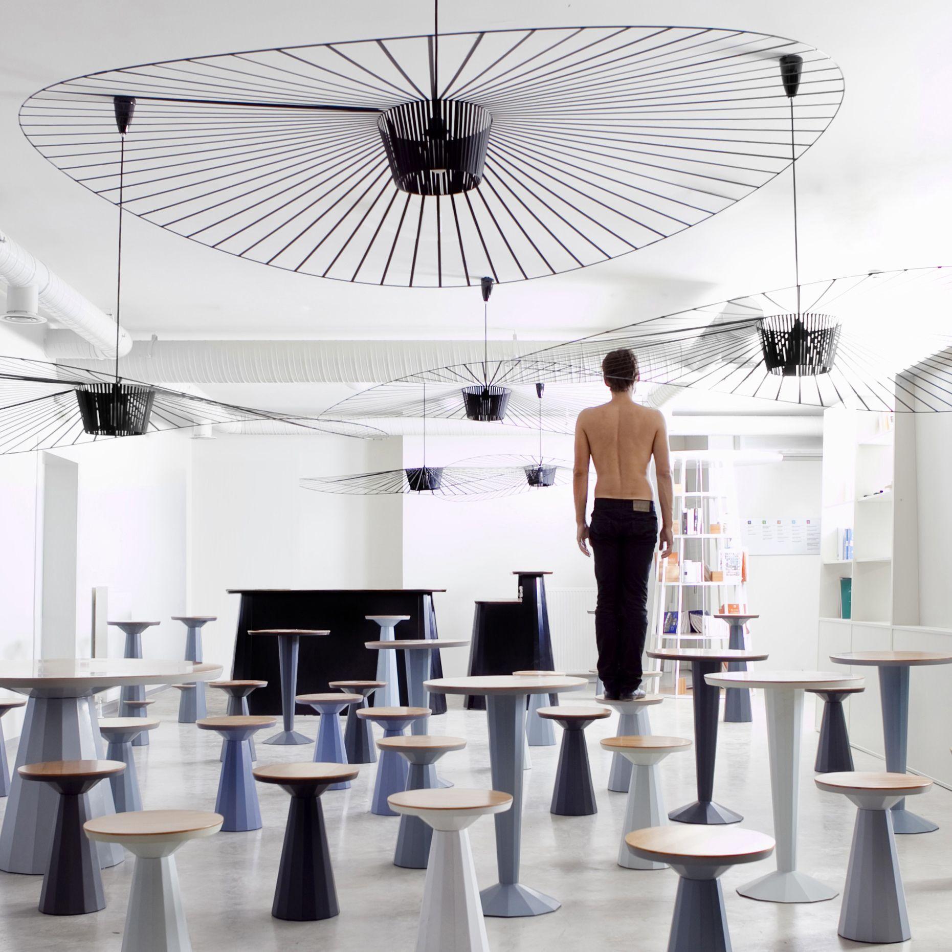 suspension noir 200cm vertigo petite friture friture. Black Bedroom Furniture Sets. Home Design Ideas