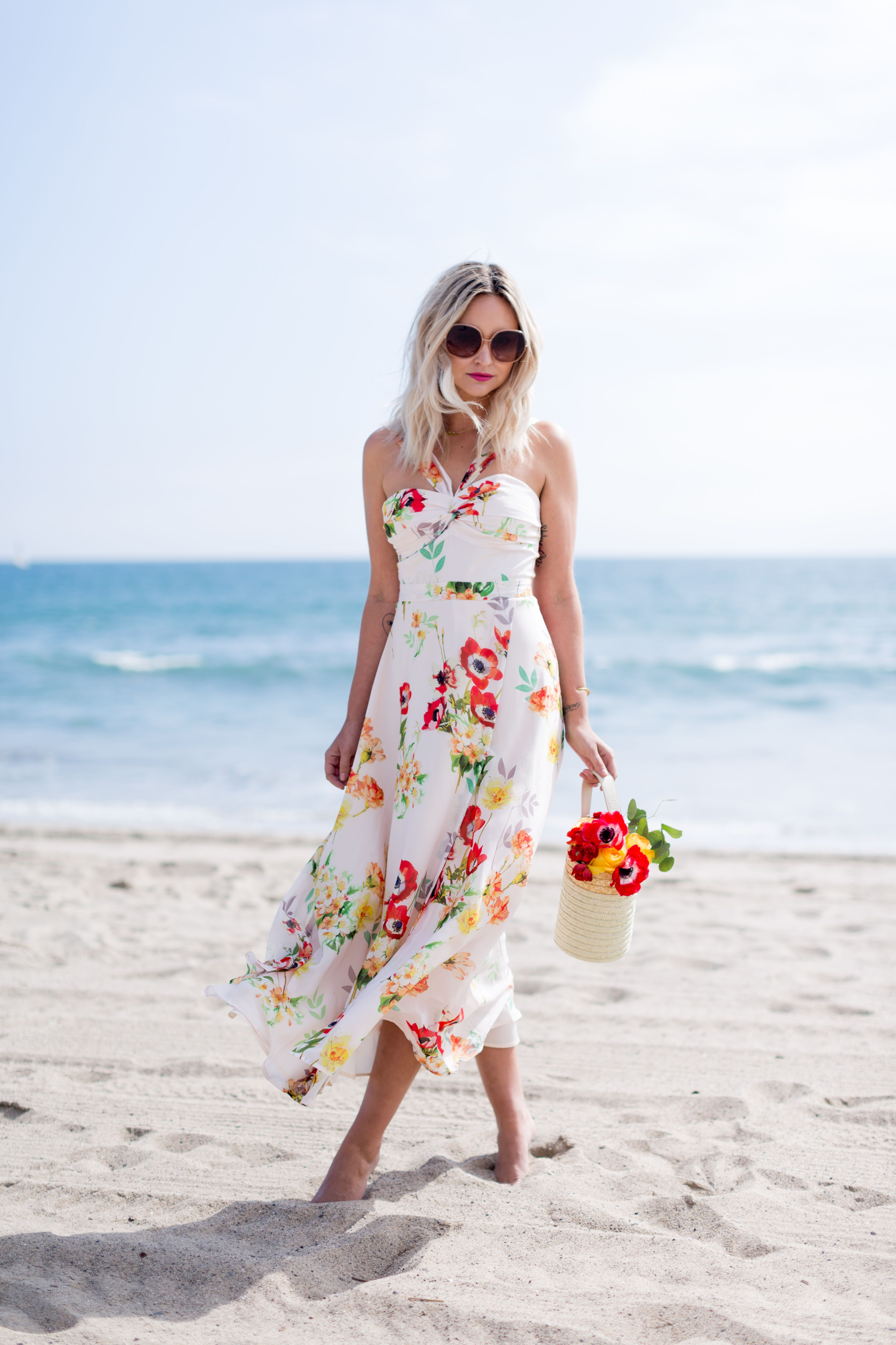 Dress for wedding guest spring  FLOWER SHOP  Late Afternoon Blog  Spring  summer style