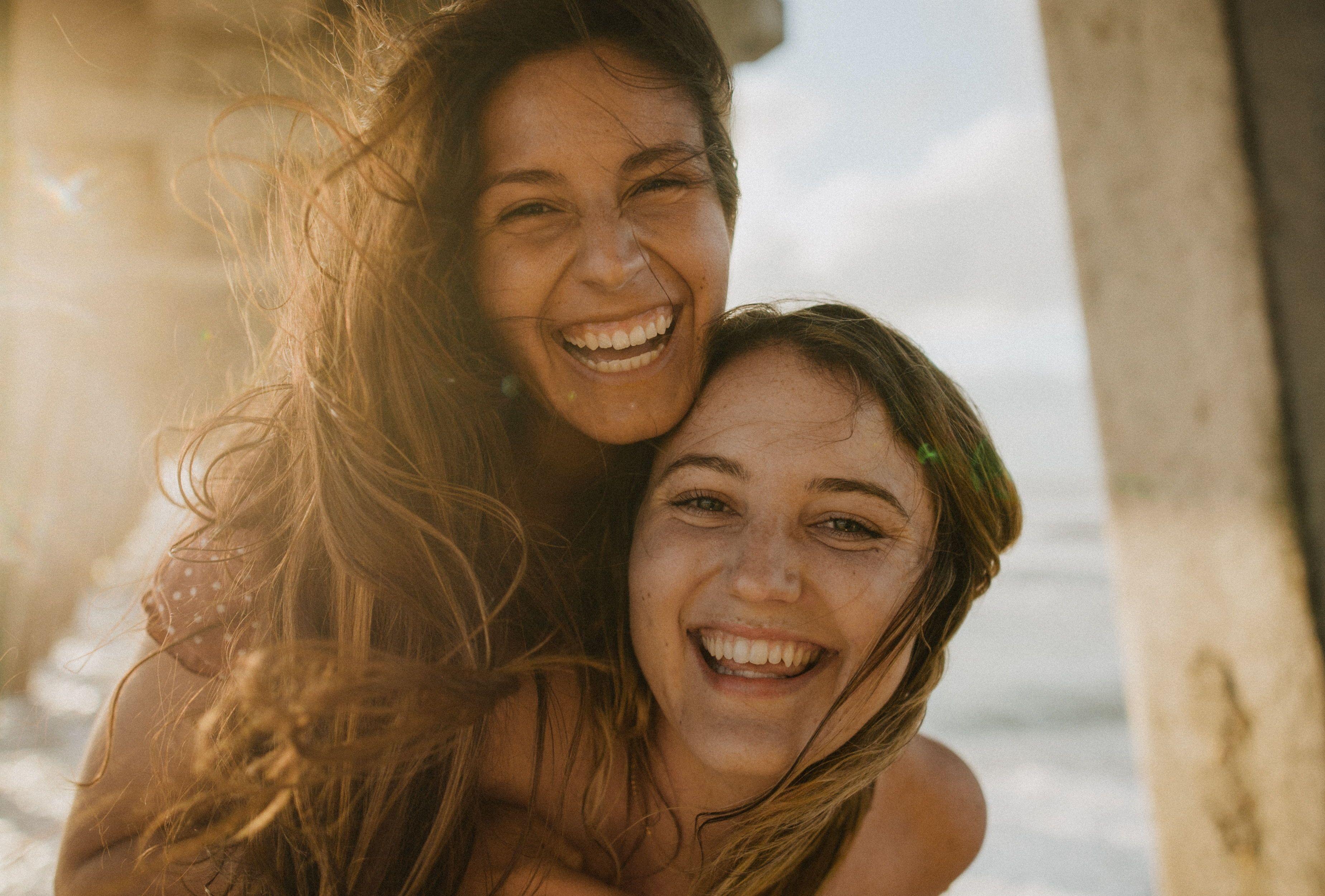 Venice, Florida Best friends give the best piggyback rides