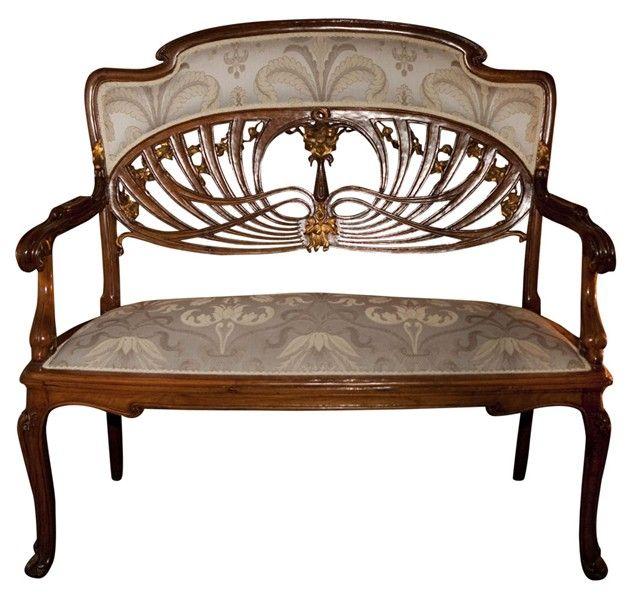 art nouveau sofa asseoir la souverainet pinterest jugendstil jugendstil m bel und jugend. Black Bedroom Furniture Sets. Home Design Ideas