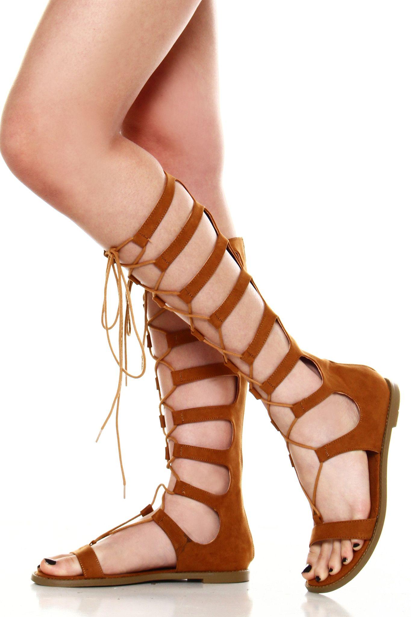 Galactic Gladiator Sandals