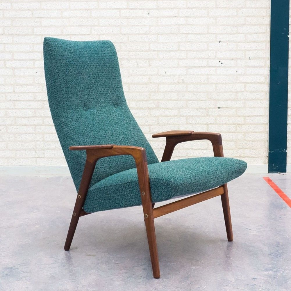 Marvelous Ruster Lounge Chair From The Fifties By Yngve Ekström For Pastoe