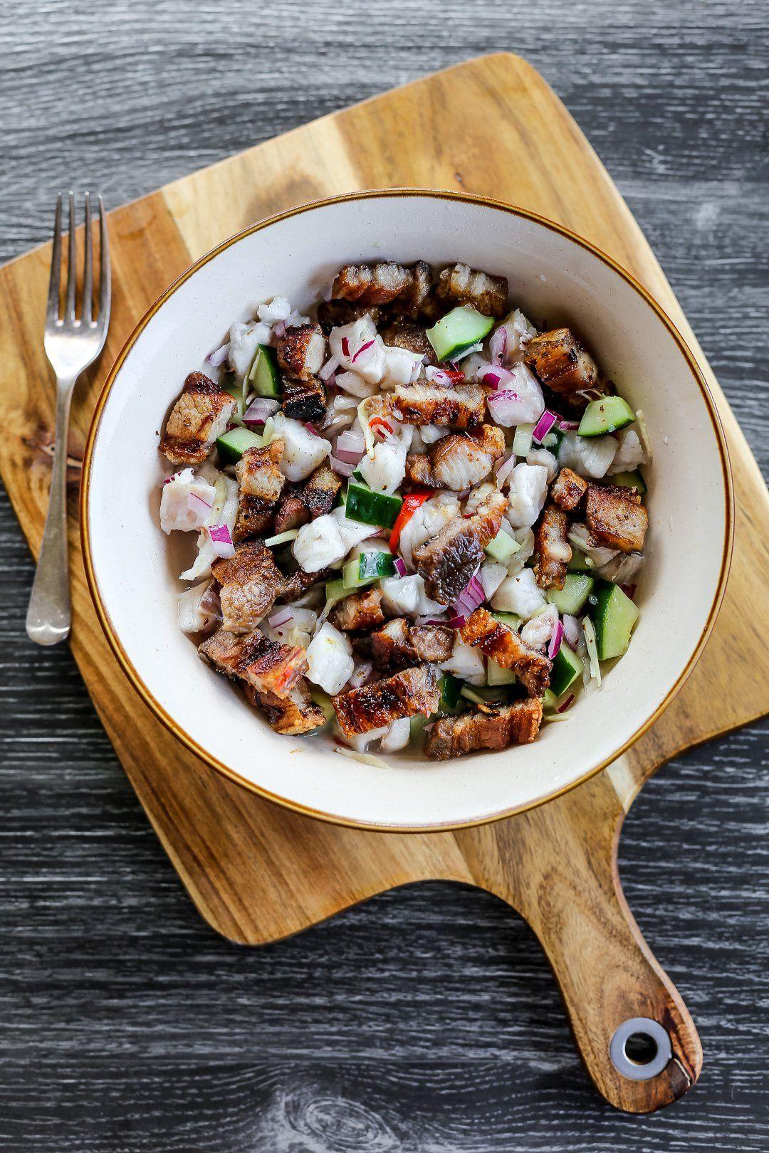 Sinuglaw Recipe Pork belly recipes, Asian recipes
