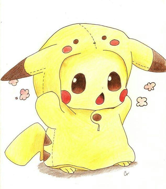 pikachu in a pika suit