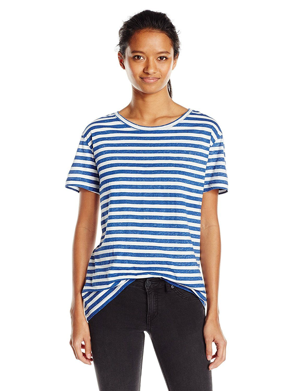 Volcom Junior's Stripe Tees Dolman Top ** Remarkable product available now.  : Fashion