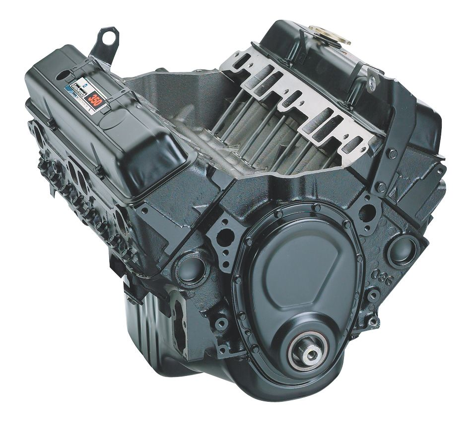 Chevrolet Performance 350 C.I.D. Base Engine Assemblies