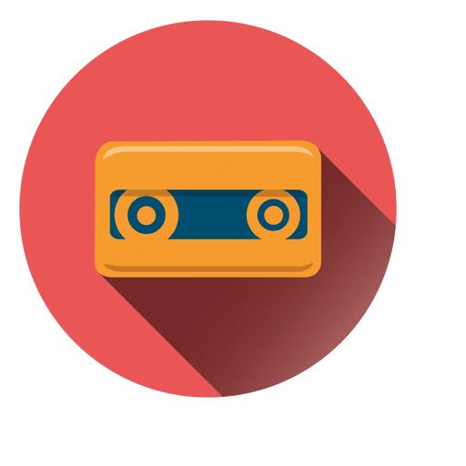 Cassette Tape Circle Icon Ad Paid Paid Tape Circle Icon Cassette Icon Graphic Desi Logo Icons