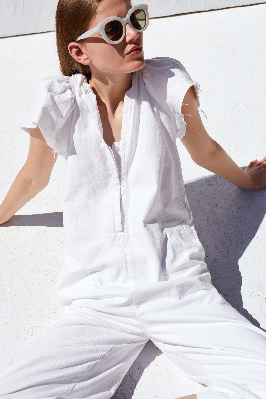 1afdc240a0 Rustic jumpsuit in 2019 | Spring 2019 | Zara jumpsuit, Jumpsuit ...