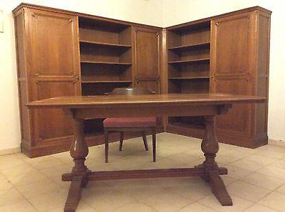 Buro Buromobel Eckschrank Schrank Schreibtisch Stuhl Klassisch
