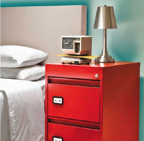 Thinking Outside the Box: Bedside Table Alternatives | Painted ...