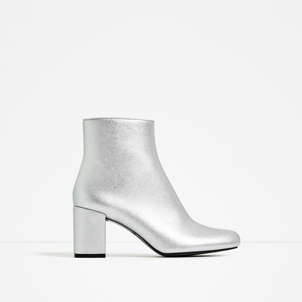 e02a356858f SILVER HIGH HEEL ANKLE BOOTS-COLLECTION-WOMAN-SALE
