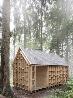 La Cabane Au Fond Des Bois : cabane, Cabane, Bois,, Cabine, Maison