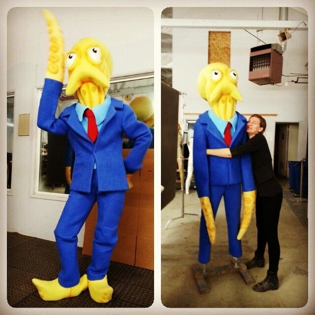 More Octodad He Was Made Entirely With Muppet Fleece So He Was