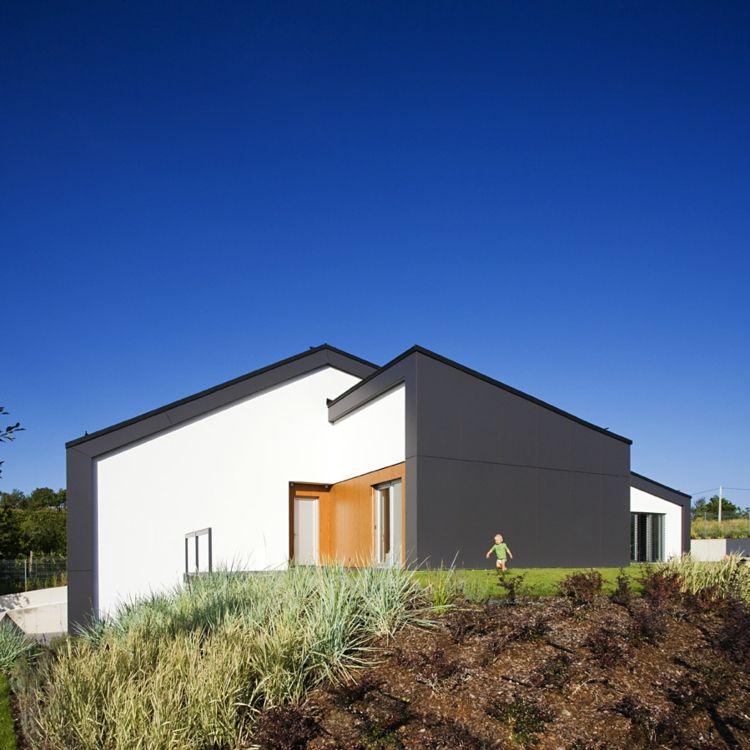 original diseño fachada jardín casas Pinterest Minimalismo - fachadas originales
