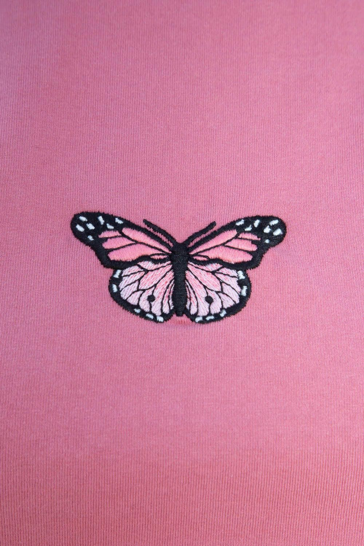 Aesthetic Wallpapers Purple Butterfly
