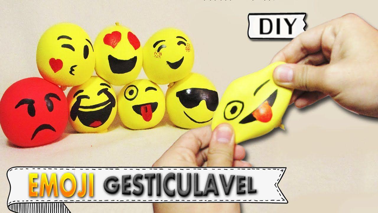 DIY EMOJI GESTICULÁVEL | Aprenda com Edu