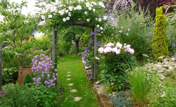 Le jardin des Grandes Vignes - France