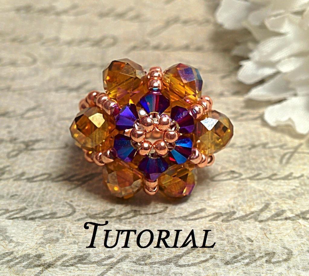 Swarovski Crystal Flower Stretch Ring | Schmuck
