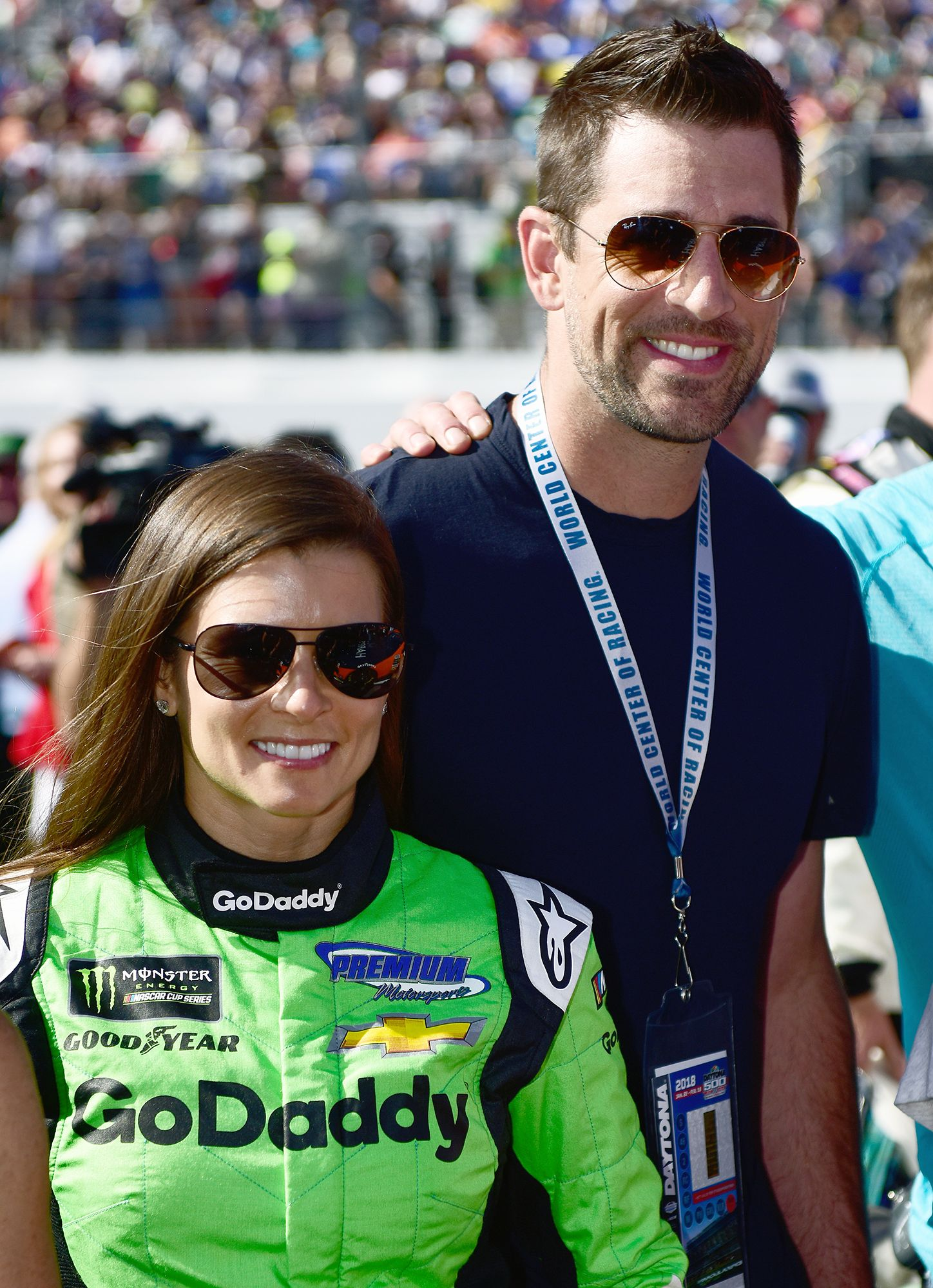 Danica Patrick On Bf Aaron Rodgers I Got His Email The First Time We Met Aaron Rodgers Danica Patrick Aaron Rogers
