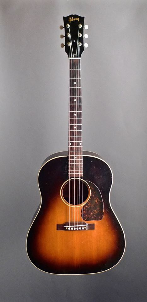Vintage 1950 Gibson J-45 Acoustic Guitar