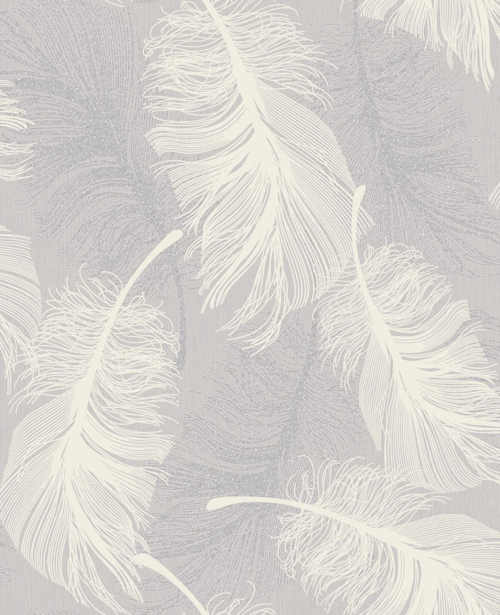 Lilac Bedroom Wallpaper Feather Lilac Wallpaper By Coloroll Bedroom Pinterest