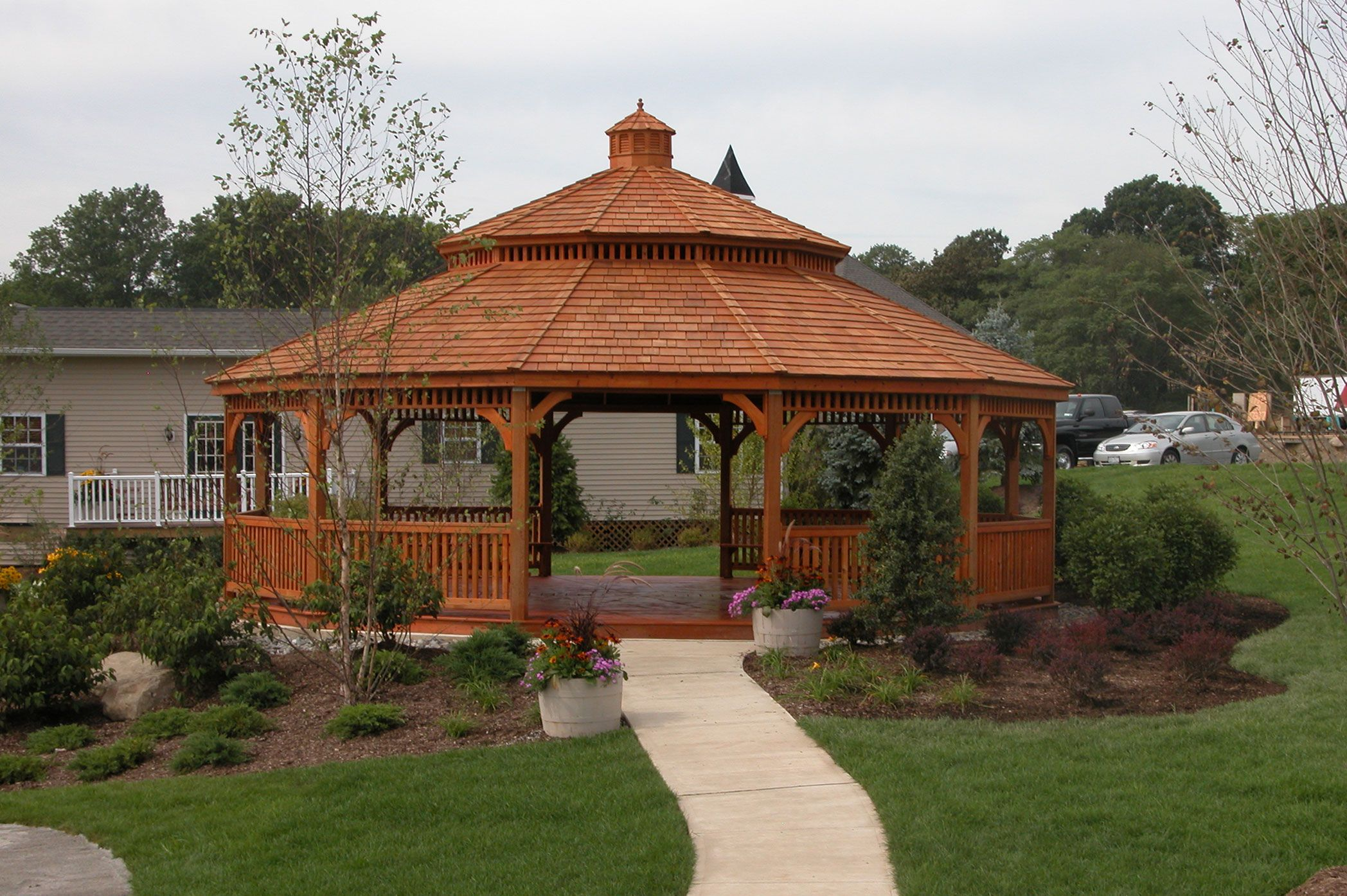 Large Wood Gazebos Wooden Gazebo Large Gazebo Gazebo Plans