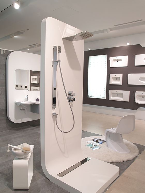 Exhibition Stand Fittings : Noken sanitaryware and bathroom fittings for contemporary