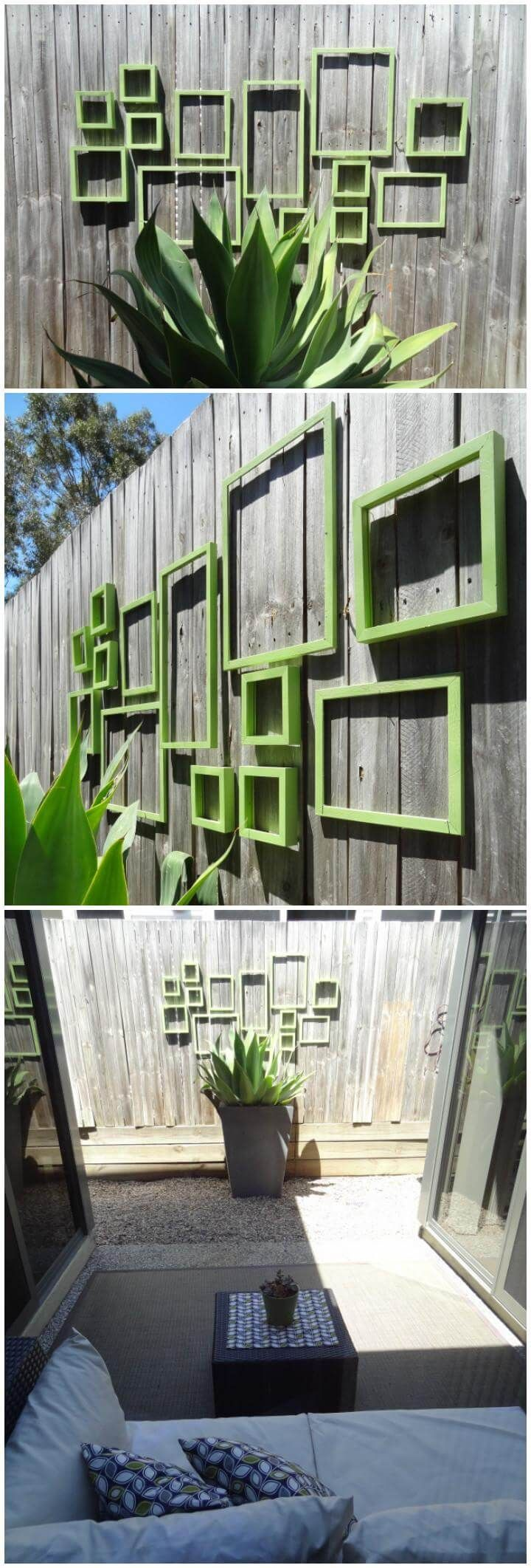 diy fence decorating ideas u projects backyard pinterest