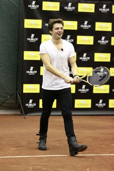 Sebastian Stan Photos Photos - Bode Miller & Friends Join in Hublot's Tennis Fusion Celebrity Challenge - Zimbio