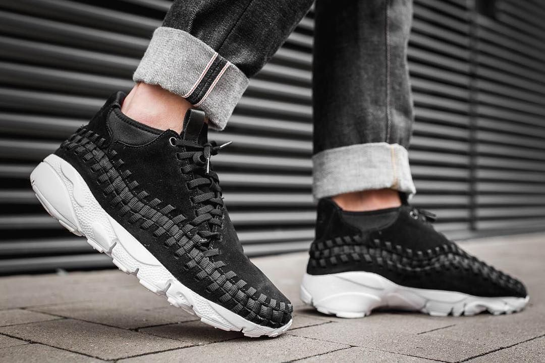 The Nike Footscape Woven Chukka is now available in a clean black and white  colorway. You can get your pair at retailers such as  afewstore - keeping  it ... b8b1ae254
