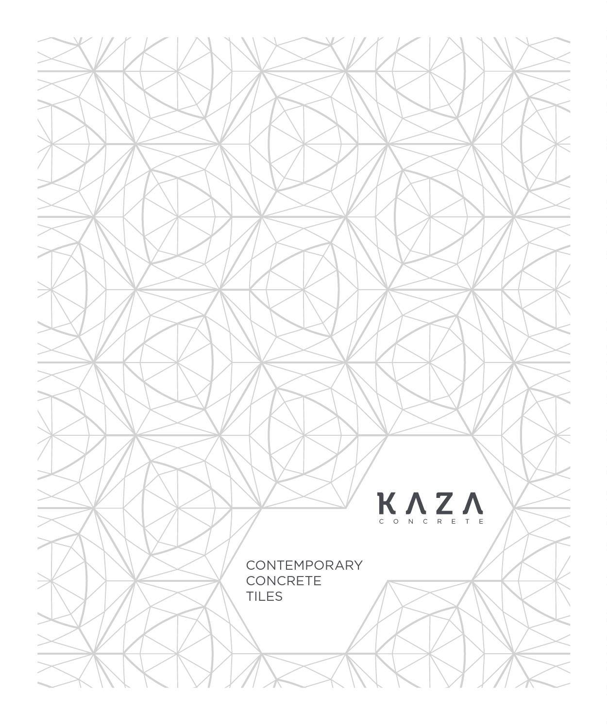 Kaza Catalogue 2016 Arabic Pattern Geometric Art Mood Colors
