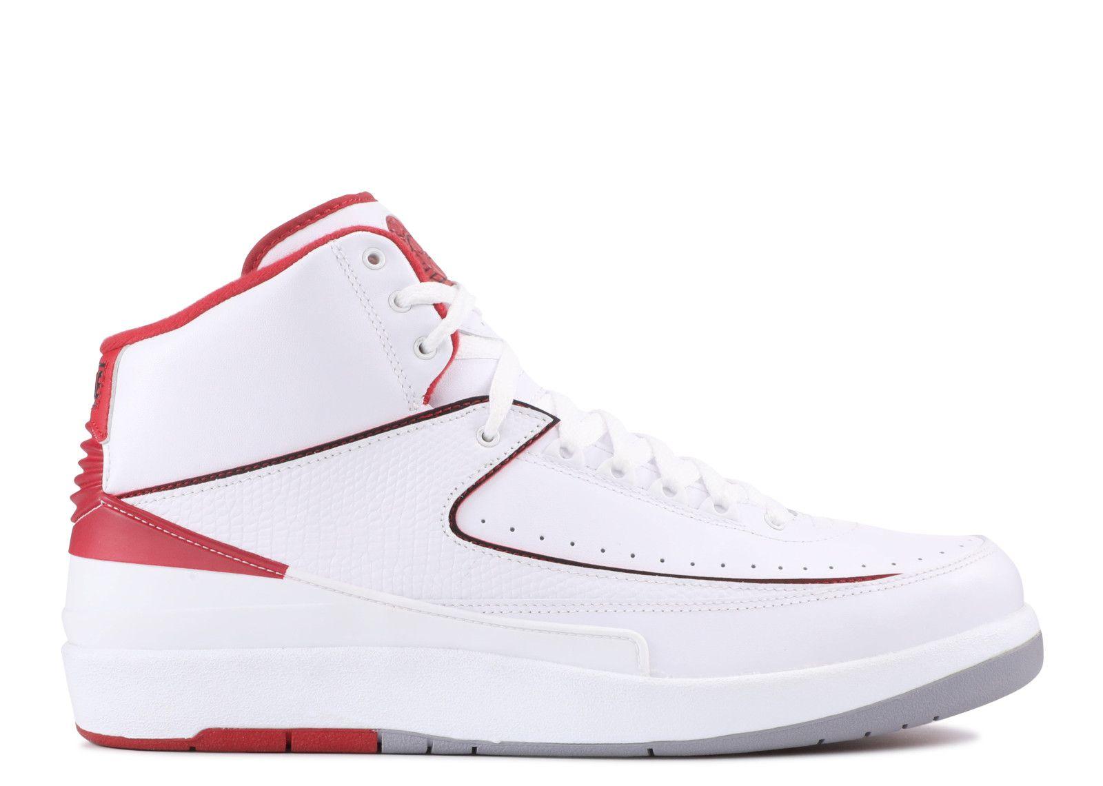 Andes combinar fusible  Air Jordan 2 Retro 'Chicago Home' - Air Jordan - 385475 102 -  white/black-vrsty red-cmnt gry | Air jordans, Nike air shoes, Jordans