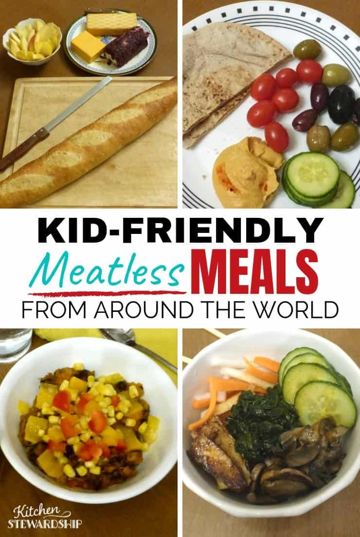 Vegetarian Food From Around the World: Kid-Friendly Meatless Meals images