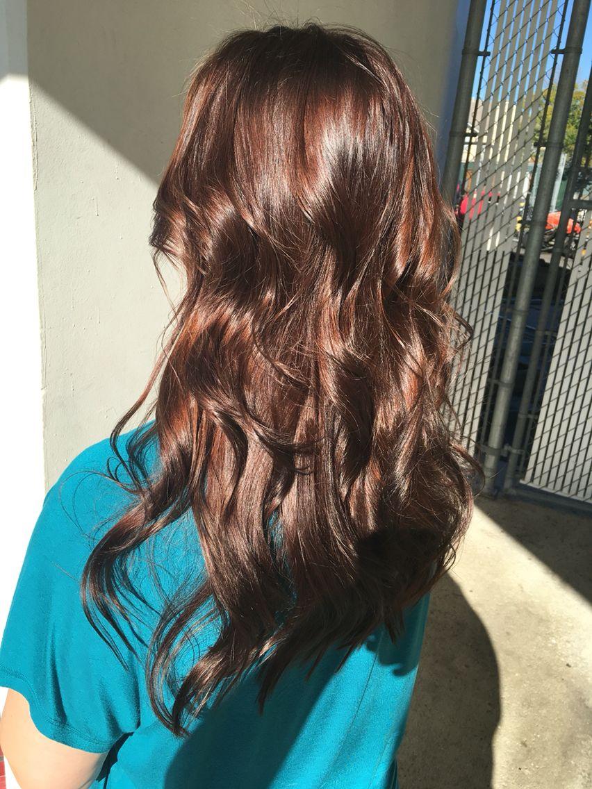 Brown Hair Chocolate Brown Hair Rich Brown Hair All