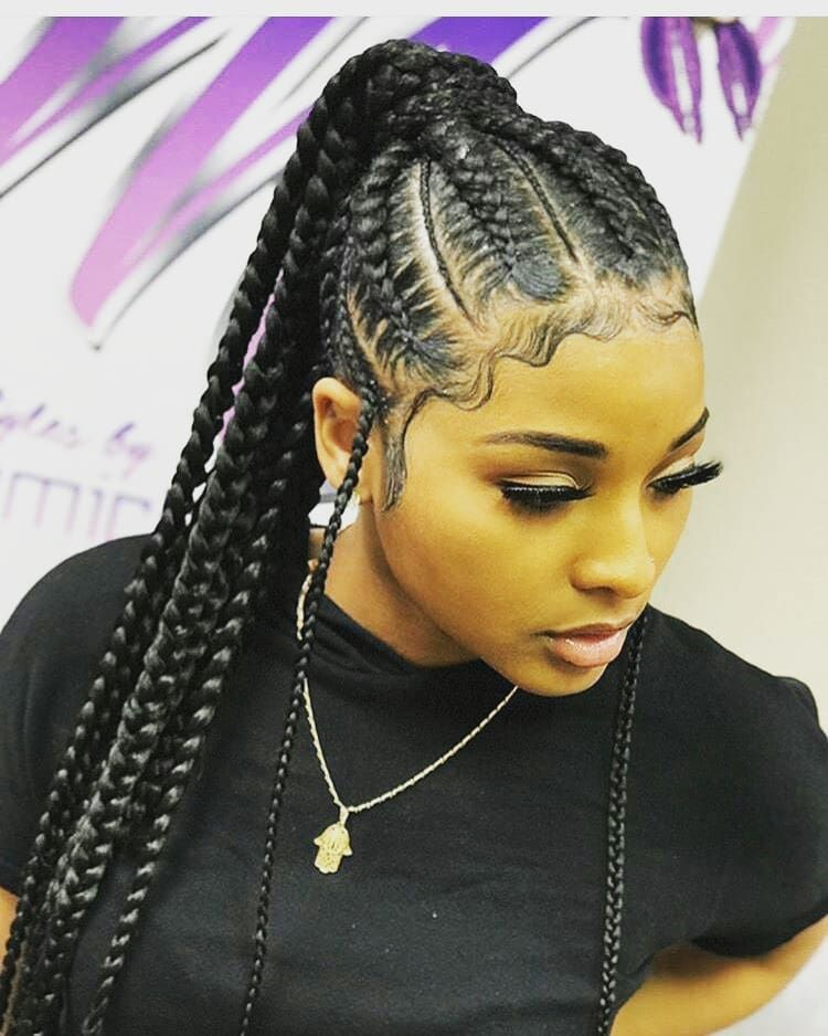 Curly Craze Crazy Hairstyles For African Americans Braided Hairstyles Braids For Black Hair African Braids Hairstyles