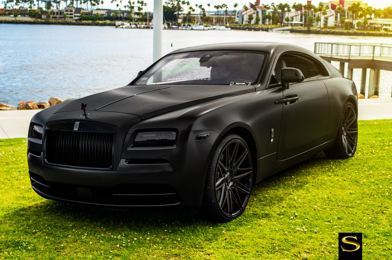 39bdc3ea8429 Rolls Royce Wraith on Savini Wheels. We finance!  parkinglotshowoff  pls   awtmotorsports