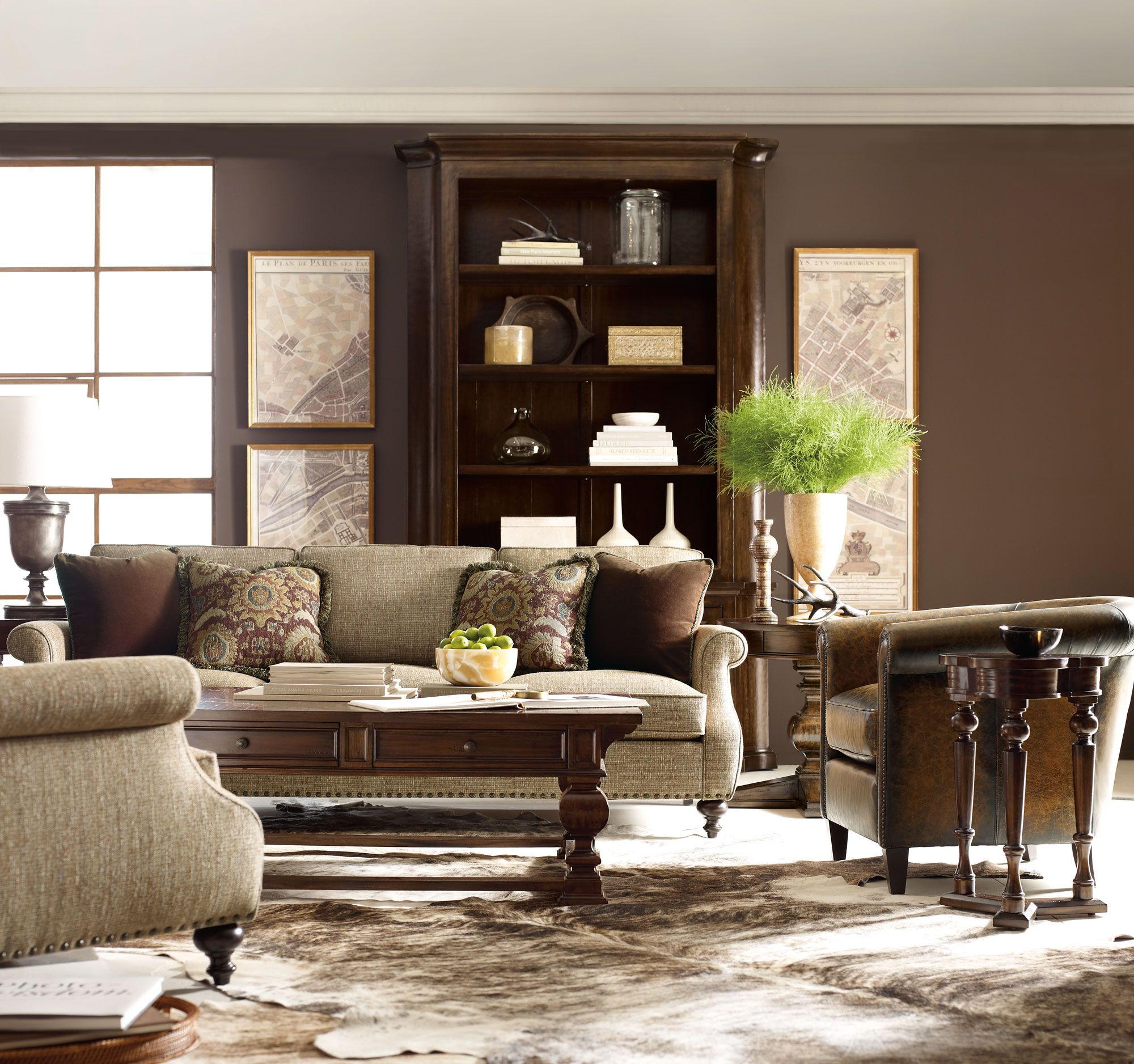 Comfortable Den Furniture Howell Huntington Celeste Fenwick Bernhardt Love The