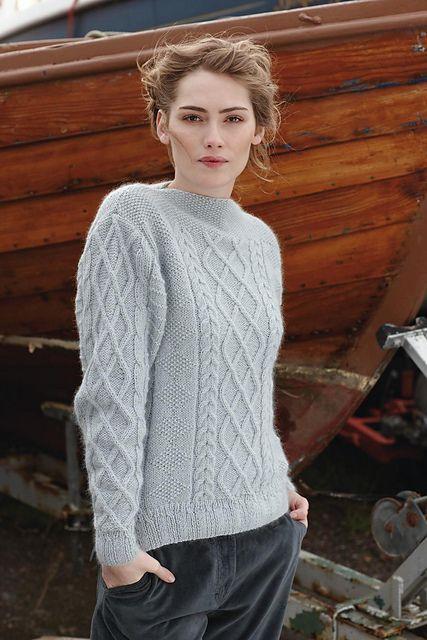 Shannon pattern by Marie Wallin | Chompas/varios lana | Pinterest ...