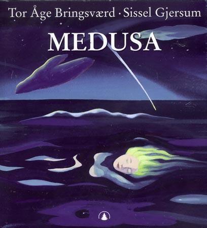 """""""Medusa - kvinnen med slangehåret"""" av Sissel Gjersum"""