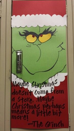 christmas locker decorations