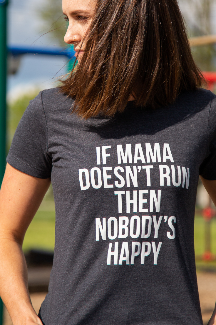 Photo of #RunLife Mama Tee