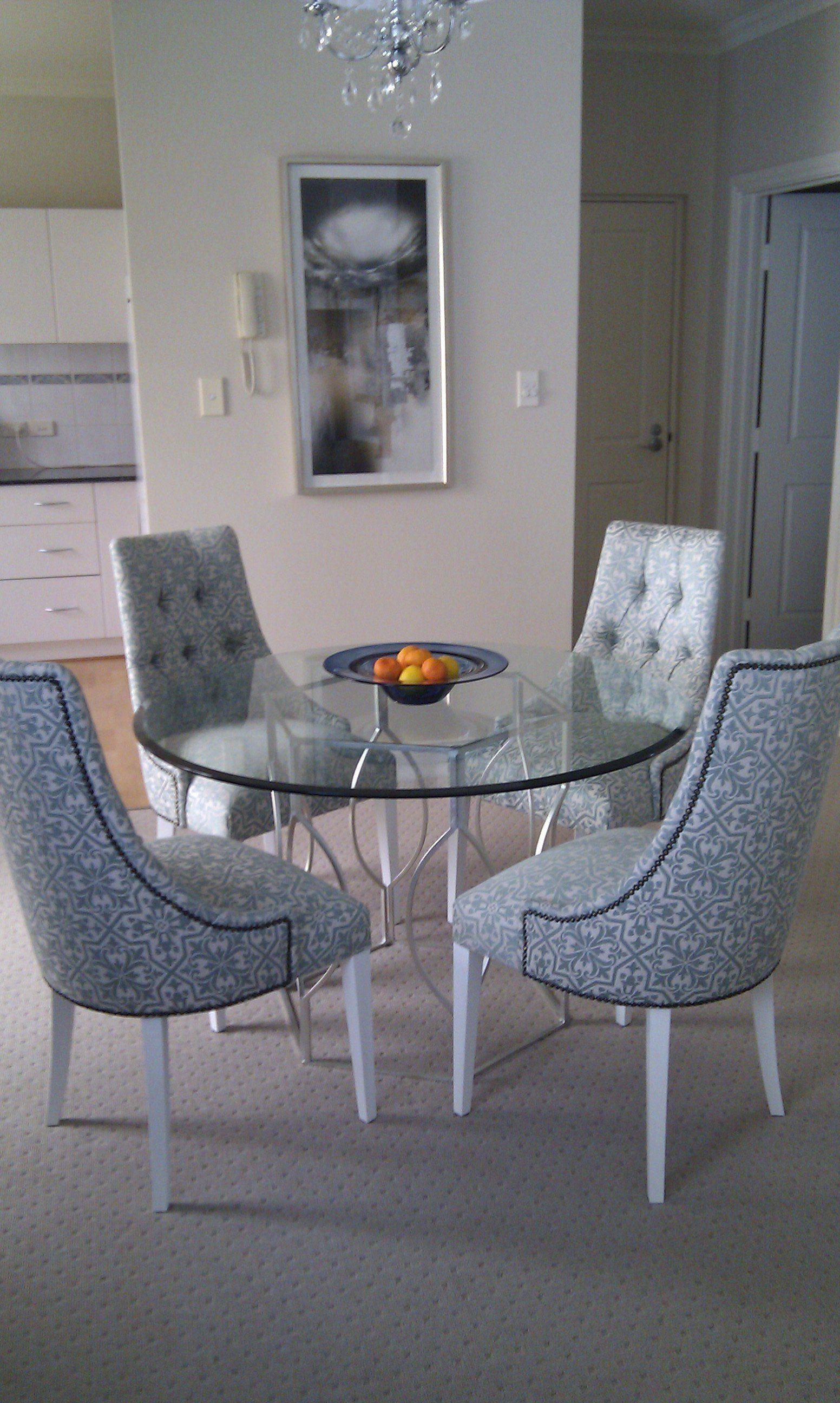 abigail silver leaf dining table james said