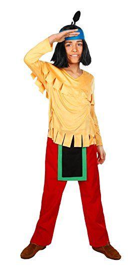 Maskworld Yakari Kinderkostum 4teilig Indianer Kostum Fur Jungen