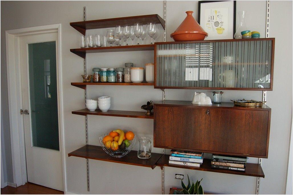 Modern Wall Mounted Kitchen Shelves Ideas  Hondudiariohn Unique Kitchen Shelves Designs Inspiration